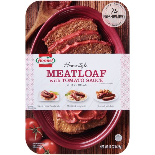 Hormel Homestyle Meatloaf with Tomato Sauce, 15 oz