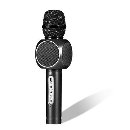 Portable Wireless Karaoke Microphone, 2-in-1 Karaoke Player