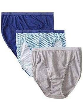9954bea6a Product Image Women s Cotton Hi-Cut Panties - 3 Pack