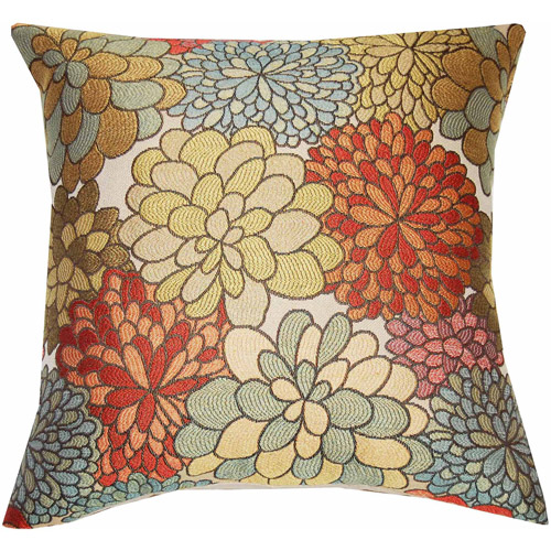 Better Homes and Gardens Mumsfield Floral Decor Pillow by Spencer Enterprises
