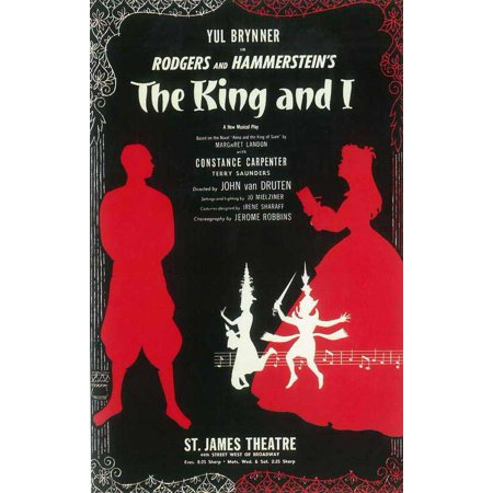 70s Style Decor (King And I, The (Broadway) - movie POSTER (Style A) (14