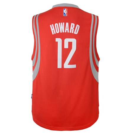 Dwight Howard Houston Rockets Youth Road Swingman Jersey (Red) by