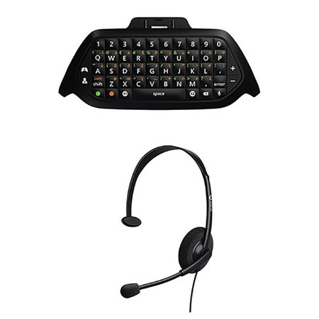 Microsoft Wired Headset   Chat Pad Keypad For Xbox One Gaming Online Game  Black