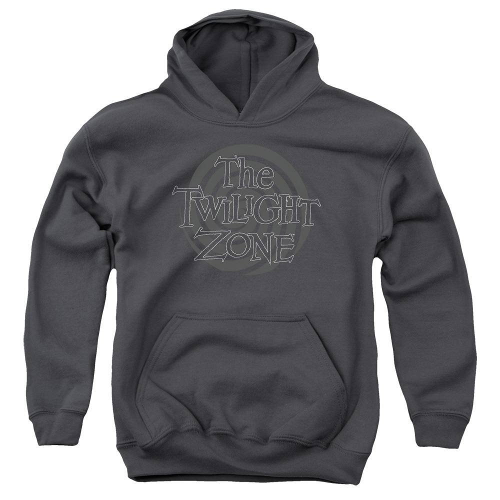 The Twilight Zone Spiral Logo Big Boys Pullover Hoodie