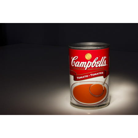 Canvas Print Classic Soup Can Tomato Stretched Canvas 10 x 14