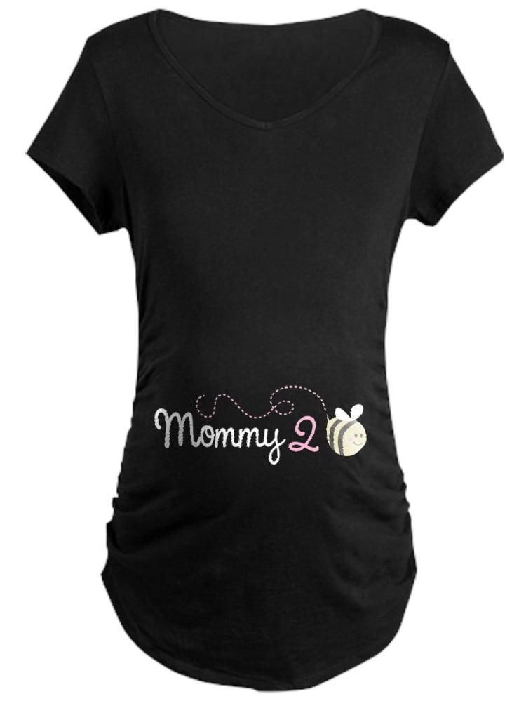 CafePress - Mommy To Bee - Maternity Dark T-Shirt