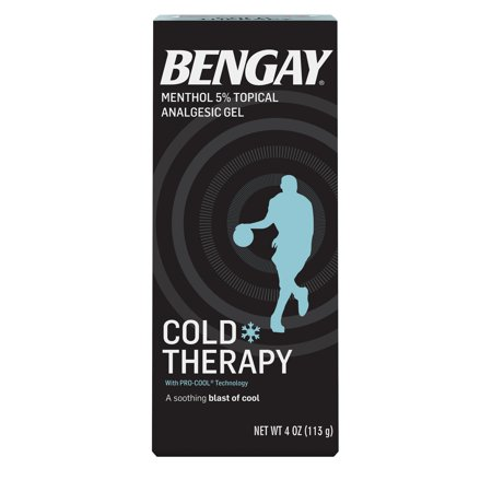 Bengay Cold Therapy Pain Relief Gel with Pro-Cool Technology, 4 oz