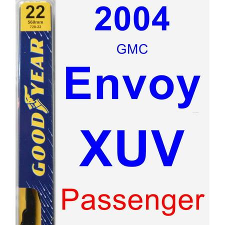 2004 GMC Envoy XUV Passenger Wiper Blade -