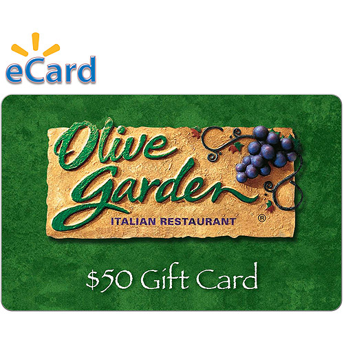Olive Garden $50 (Email Delivery)
