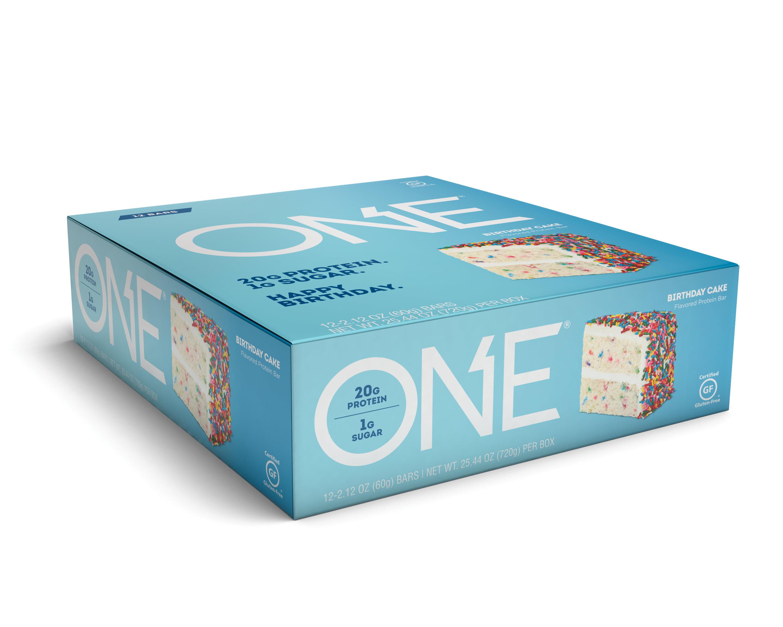 ONE Protein Bar Birthday Cake 20g 12 Ct