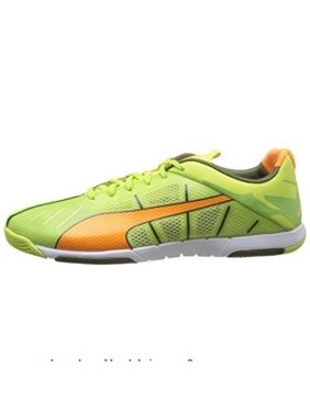 53904921e112 Product Image Puma Neon Lite 2.0 Mens Green Orange Sneakers