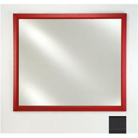 Left Hand Plain Mirror (Afina Corporation FM2030COLBK 20 in.x 30 in.Signature Plain Mirror - Colorgrain Black )