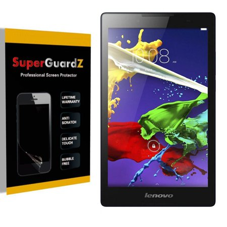 [3-Pack] For Lenovo Tab 2 A10-70 - SuperGuardZ Ultra Clear Screen Protector  [Anti-Scratch, Anti-Bubble] + LED Stylus Pen