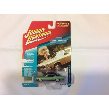 1968 Chevelle Tail (Johnny Lightning JLCG013 Classic Gold Ver A 1968 Chevy Chevelle SS)