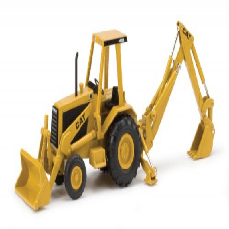Norscot Caterpillar 416 Backhoe Loader Die Cast Vehicle (1:32 Scale) by