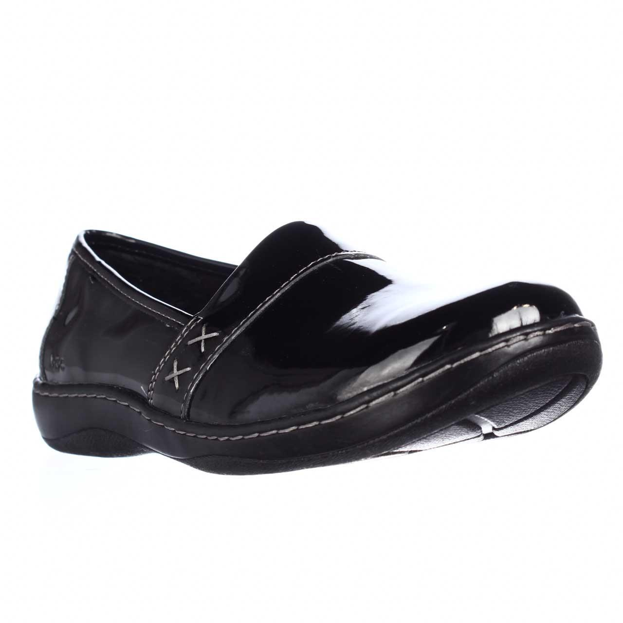 Womens B.O.C Born Howell Comfort Slip On Flats - Black