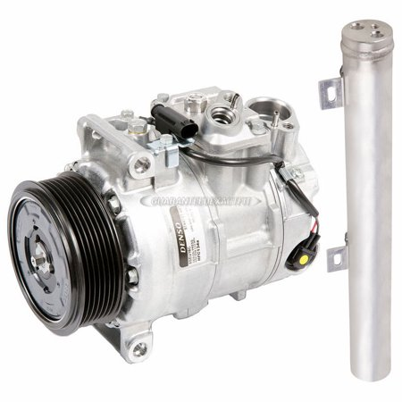 (OEM AC Compressor w/ A/C Drier For Mercedes-Benz E320 2007 2008 2009)
