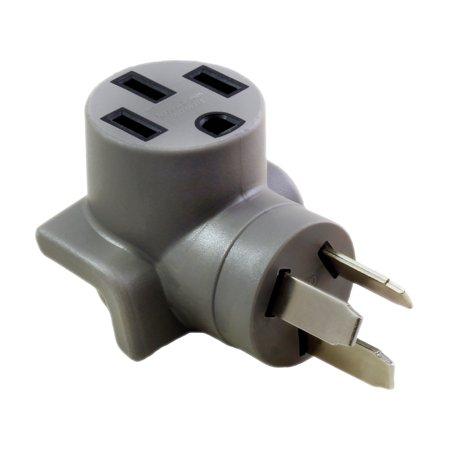 AC WORKS EV Charging Adapter NEMA 10-50P Welder Plug to 50-Amp Electric  Vehicle Adapter for Tesla