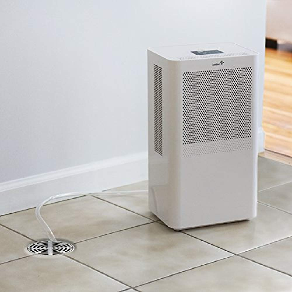 Ivation Small Area Compact Dehumidifier With Continuous