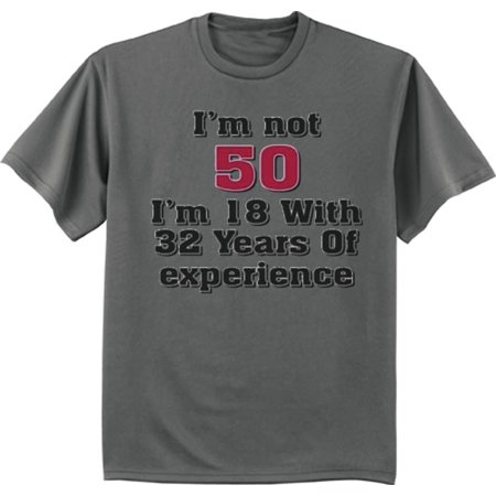 - Funny 50th Birthday Gag Gifts T-shirt Men's Graphic Tee