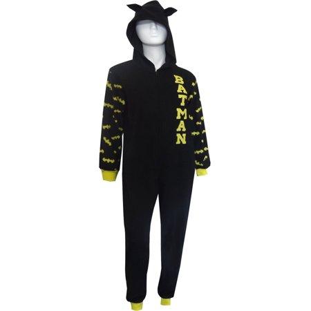 DC Comics Batman Ladies Hooded Onesie Pajama