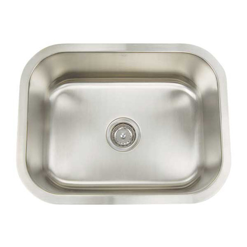 Artisan Sinks Premium Series 23.125'' L x 18'' W Rectanglular Single Bowl Undermount Kitchen Sink