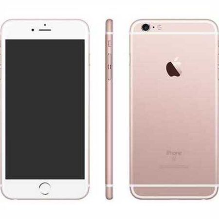 refurbished apple iphone 6s plus 64gb rose gold mkwe2ll a at t. Black Bedroom Furniture Sets. Home Design Ideas