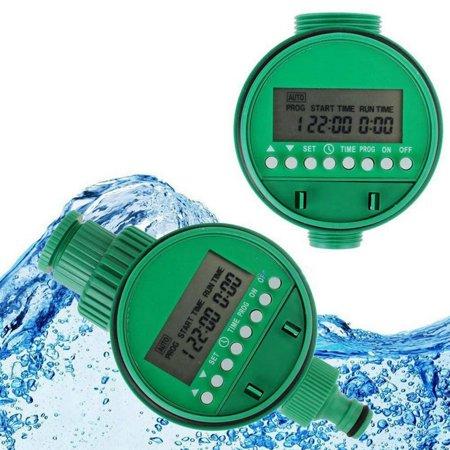 Home Water Timer Garden Irrigation Timer Controller Set Water Programs BO ()