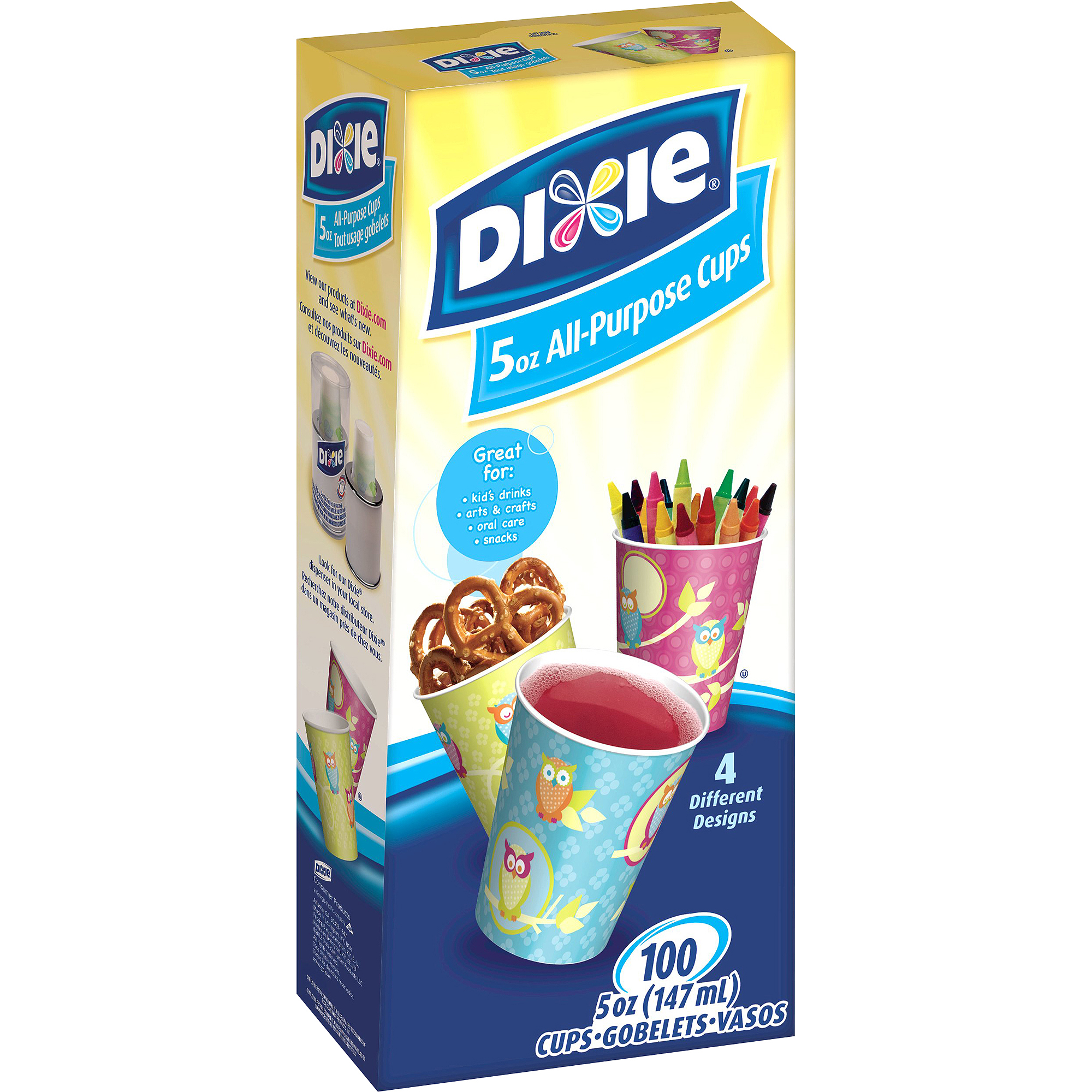 Dixie Bath Cups, 5 oz, 100 count