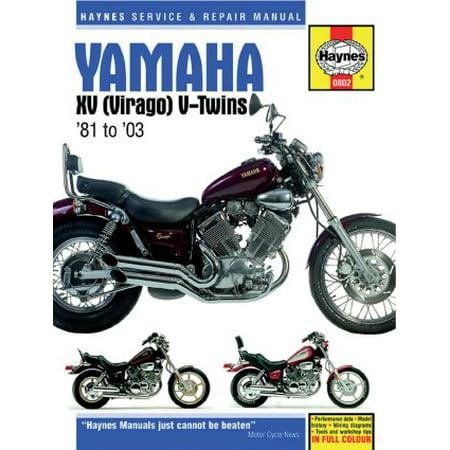 Yamaha virago repair manual by haynes 1981-2003.
