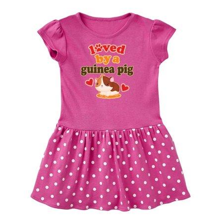 Guinea Pig Pet Owner Gift Toddler Dress