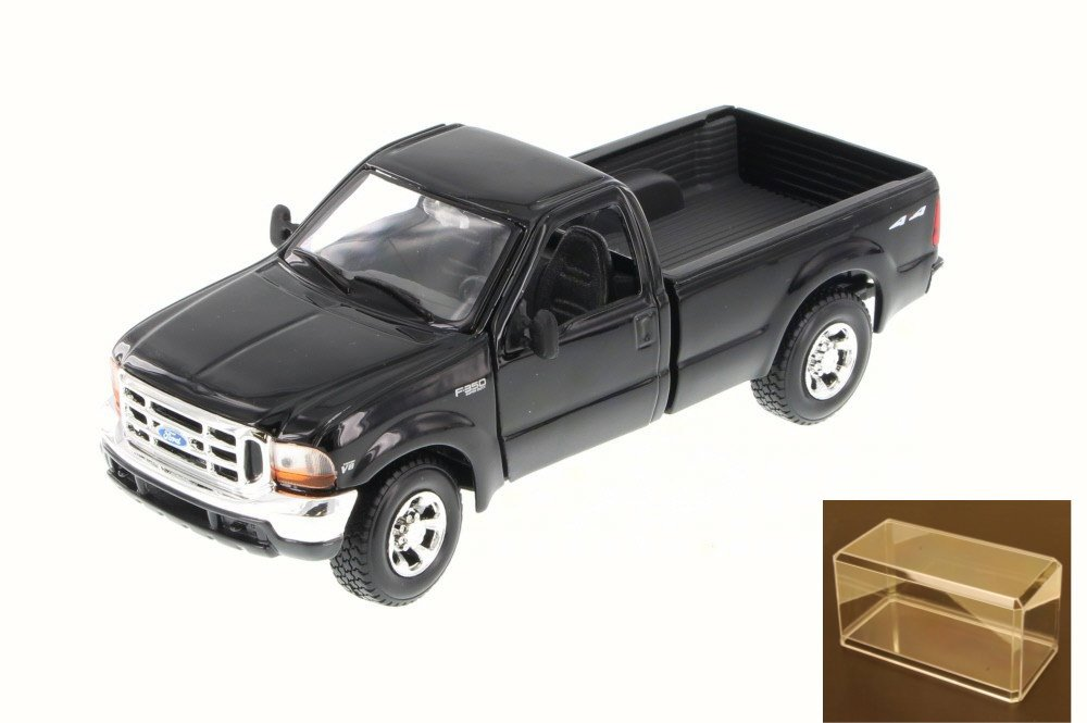 Diecast Car & Accessory Package 1999 Ford F-350 Super Duty Pickup, Black Maisto 34937 1 27... by Maisto