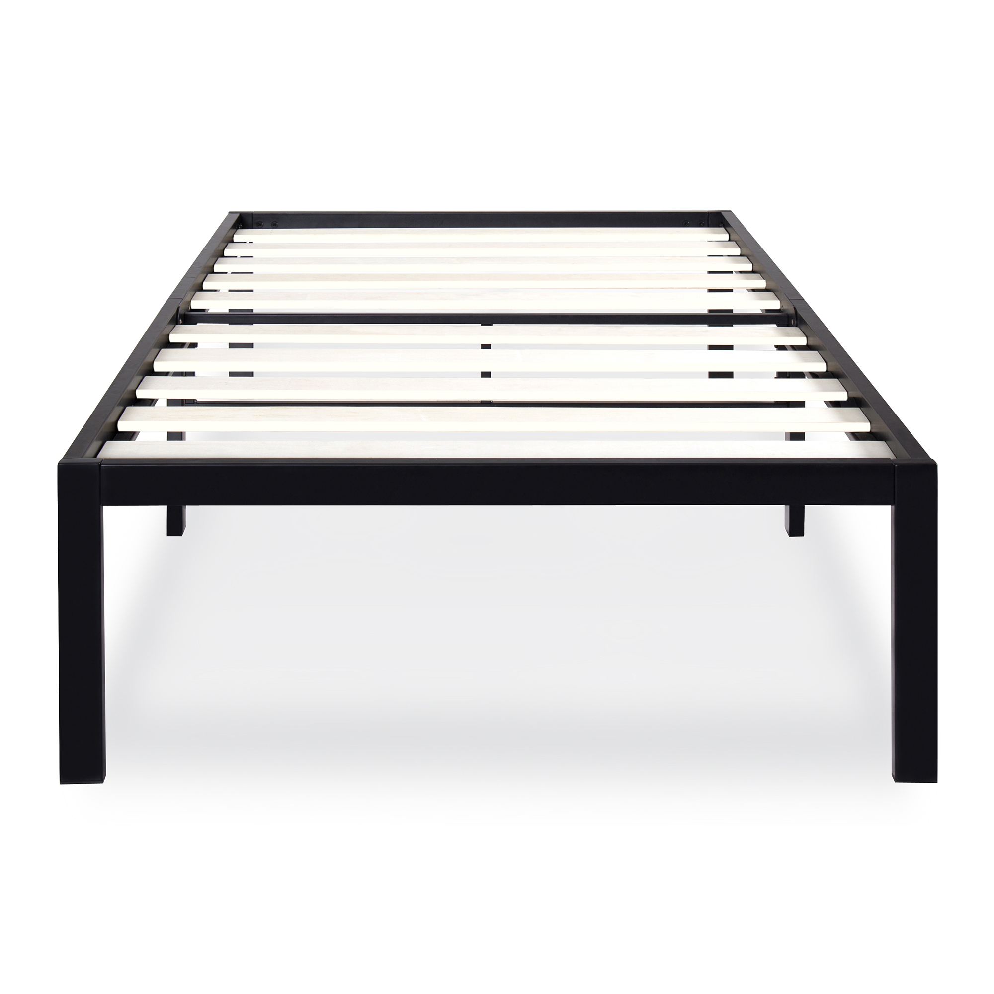 "GranRest 14"" Wood Slat Bed Frame- W7500 Twin"