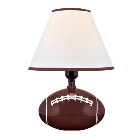 Pass Me 1 Light Table Lamp Football (Includes Energy Efficient Light Bulb) - Lite Source