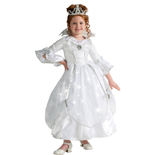 Light Up Crystal Princess Child Hallowee