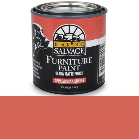 Black Dog Salvage Appalachian Sunset Red Furniture Paint, 1/2
