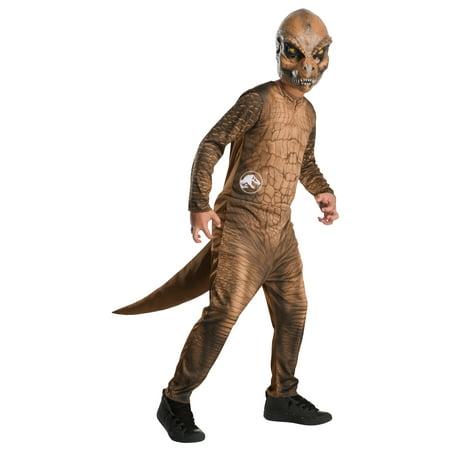 Costume World Austin Texas (Rubies Jurassic World T-Rex Boys Halloween)