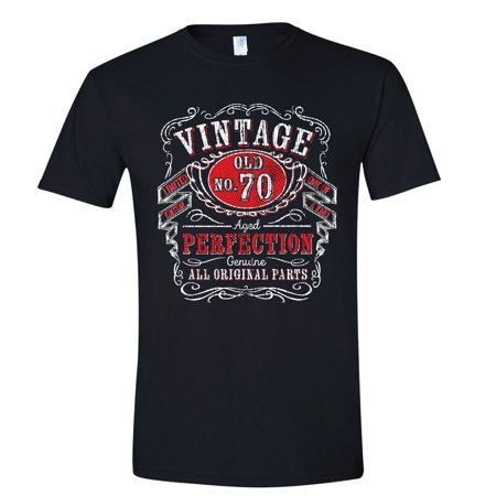Texas Tees Mens T Shirt 70th Birthday Gifts For Him 70 Yrs Old