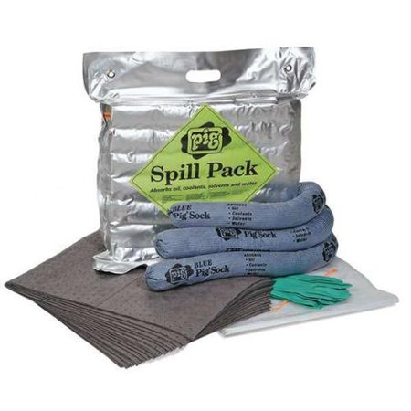 NEW PIG KIT261 Spill Kit, Carrying Bag, 4 gal.
