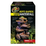 Zoomed Repti Rapids LED Waterfall – Small Rock