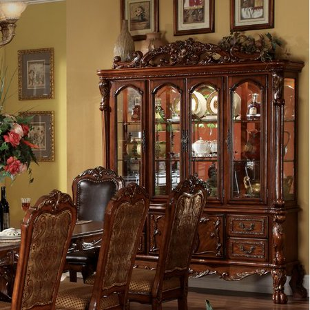 - Astoria Grand Welliver Lighted China Cabinet
