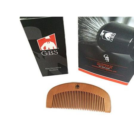 Gbs Large Bamboo Wood Beard Comb