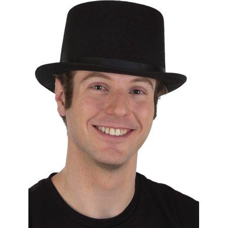 Top Hat Felt (Adults Black Felt Top Hat Costume)