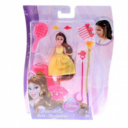 Disney Princess Small Doll Hair Play Belle Doll