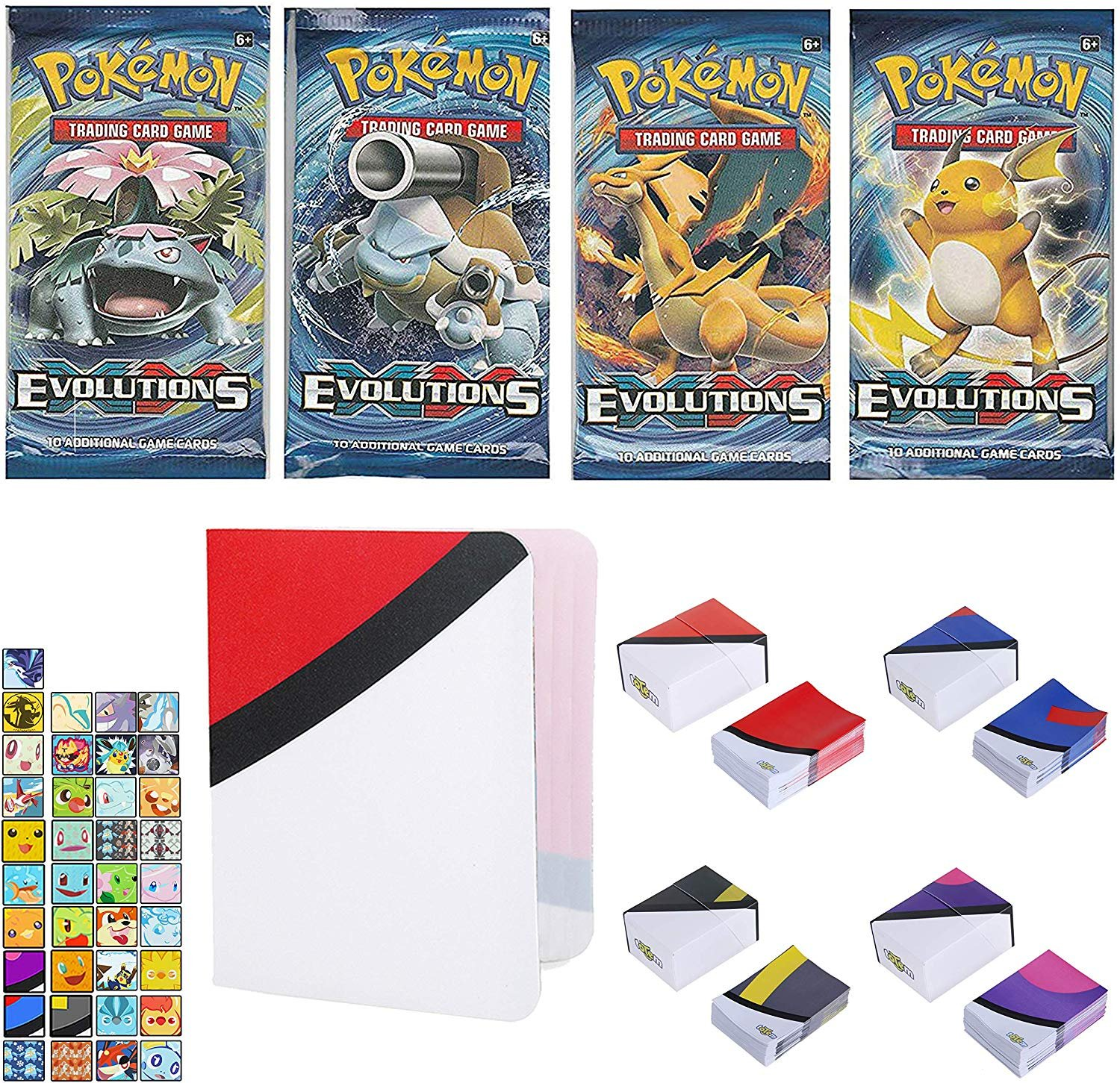 Totem World 1 XY Evolutions Booster Pack With A Inspired