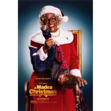 Pop Culture Graphics MOVAB86735 Tyler Perrys A Madea Christmas Movie Poster, 11 x 17 ()