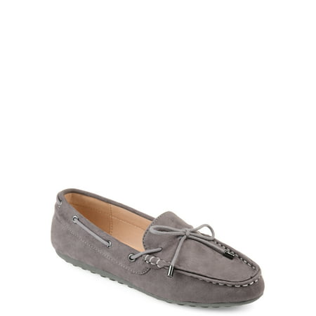 Circa Suede Loafers (Brinley Co. Womens Comfort-sole Faux Suede Slip-on Loafers )