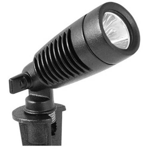 Moonrays Low Voltage LED Metal Outdoor Spotlight Kit, Black, 4-Pack