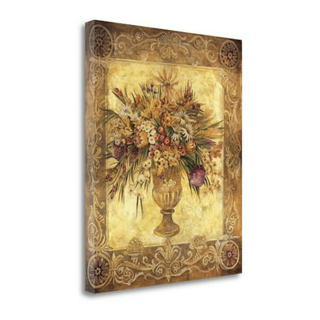 Tangletown Fine Art 'Tuscan Urn' Graphic Art Print on Wrapped Canvas