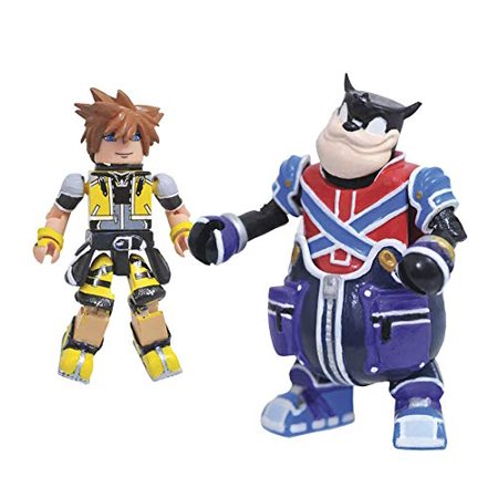 Minimates Kingdom Hearts Series 2 - Master Form Sora & Pete 2pk
